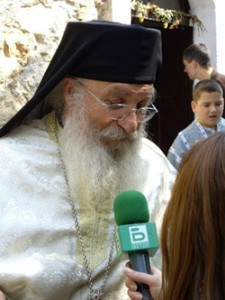 Отец Иван дава интервю