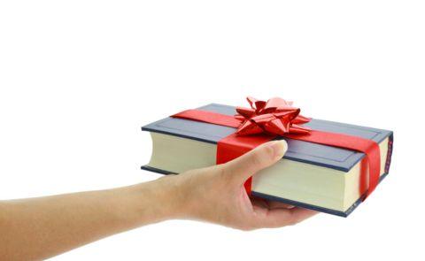 книгата като подарък